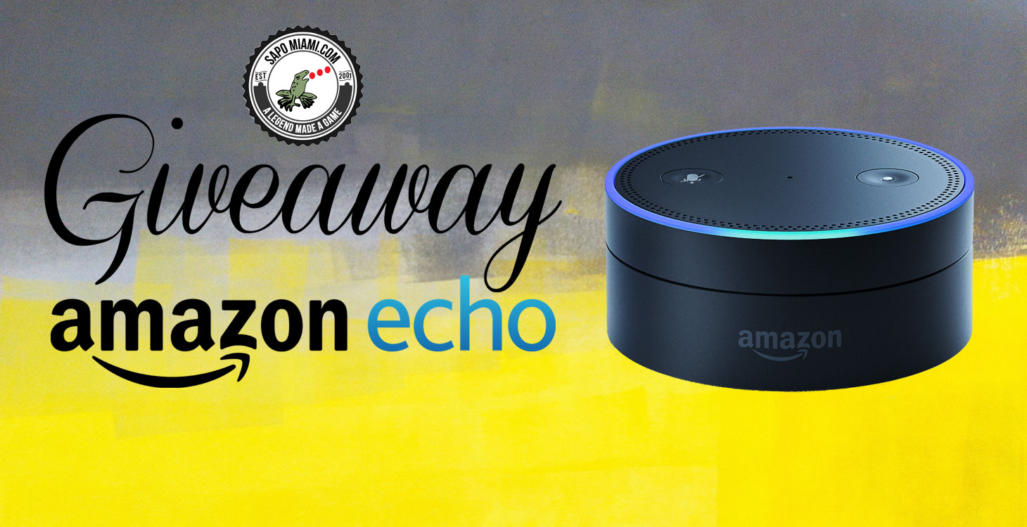 Sapo Miami Amazon Echo Giveaway
