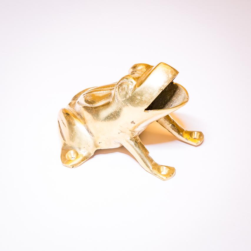 Juego de Sapo Game Brass Frog