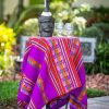 Peruvian Table Runner - Purple
