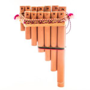 Peruvian Zampona - Bamboo Pan Flute