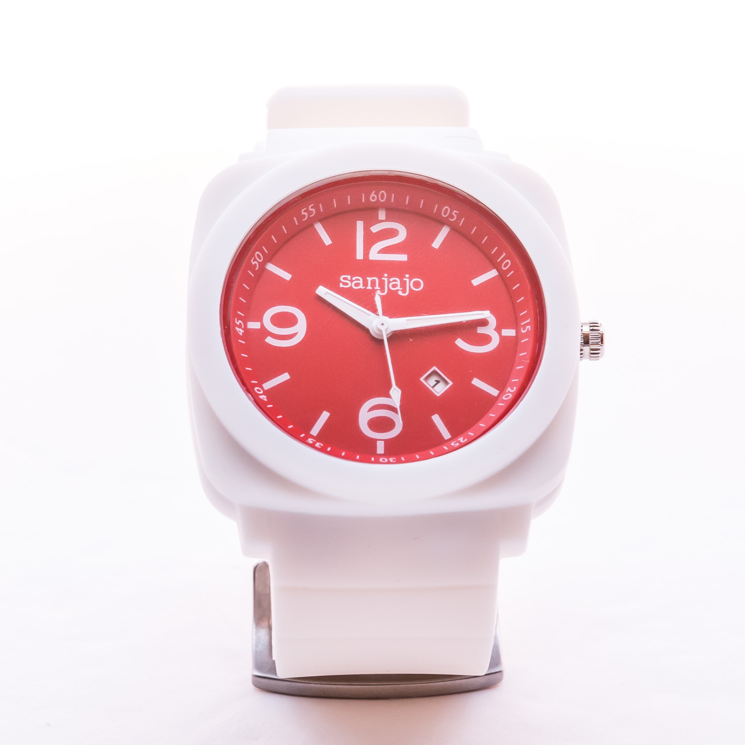 Sanjajo - Peruvian White-Red Patriot Watch