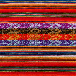 Peruvian Table Runner – Pattern