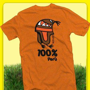 peru chullo orange